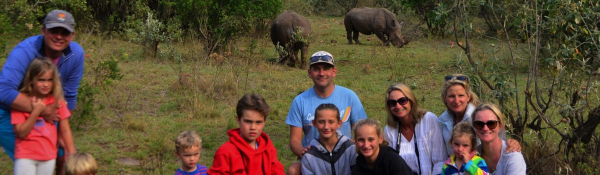A Proper Kenyan Safari, with Old Friends, and their families