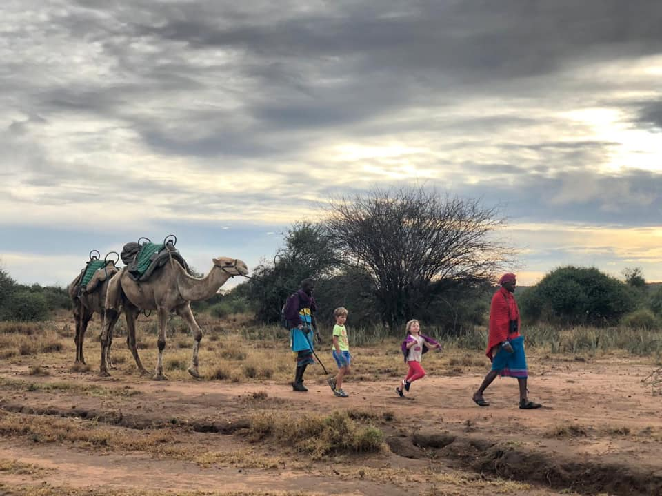 Perfect Family Adventure in Kenya - Camel Walking Safari