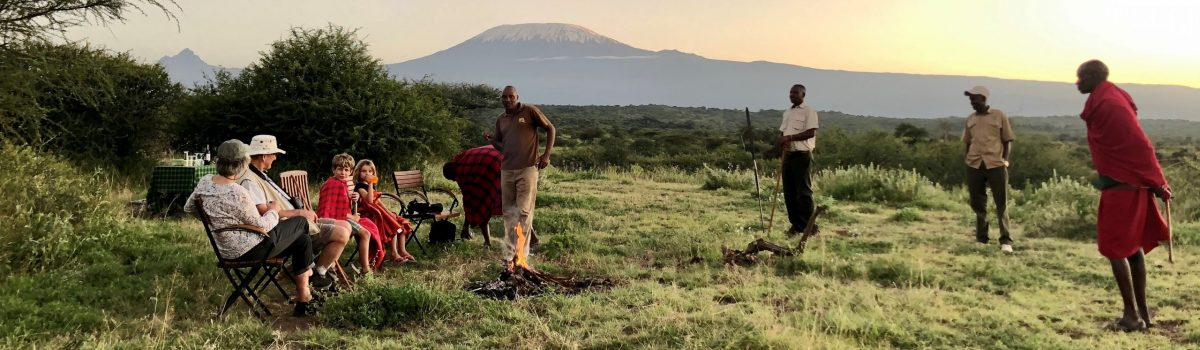 The Ultimate Off-the-Beaten Track, Multigenerational Adventure… in Kenya
